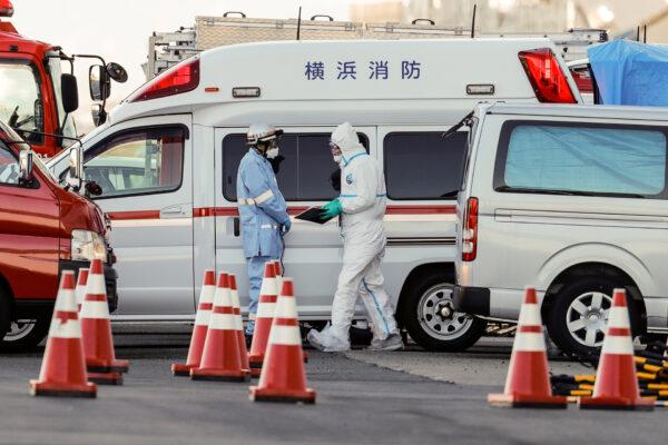 medical worker japan