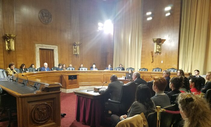 Senate Hearing on Home Healthcare in Rural Communities, Committee on Aging. Washington DC, 2020, Masooma Haq