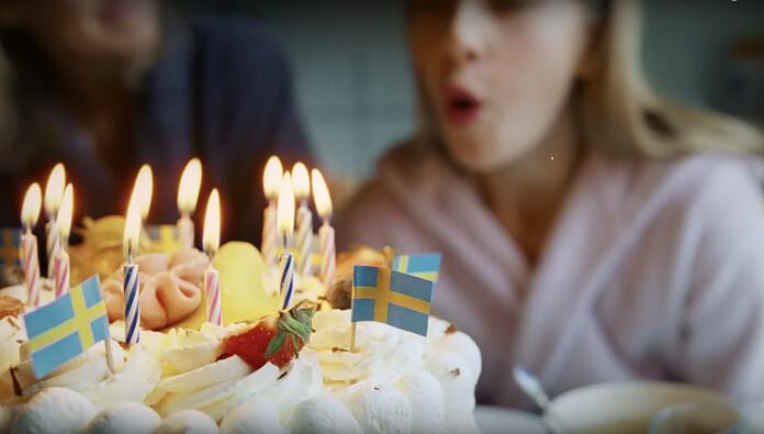 Screenshot from a Scandinavian Airlines ad. (Screenshot/Scandinavian Airlines)