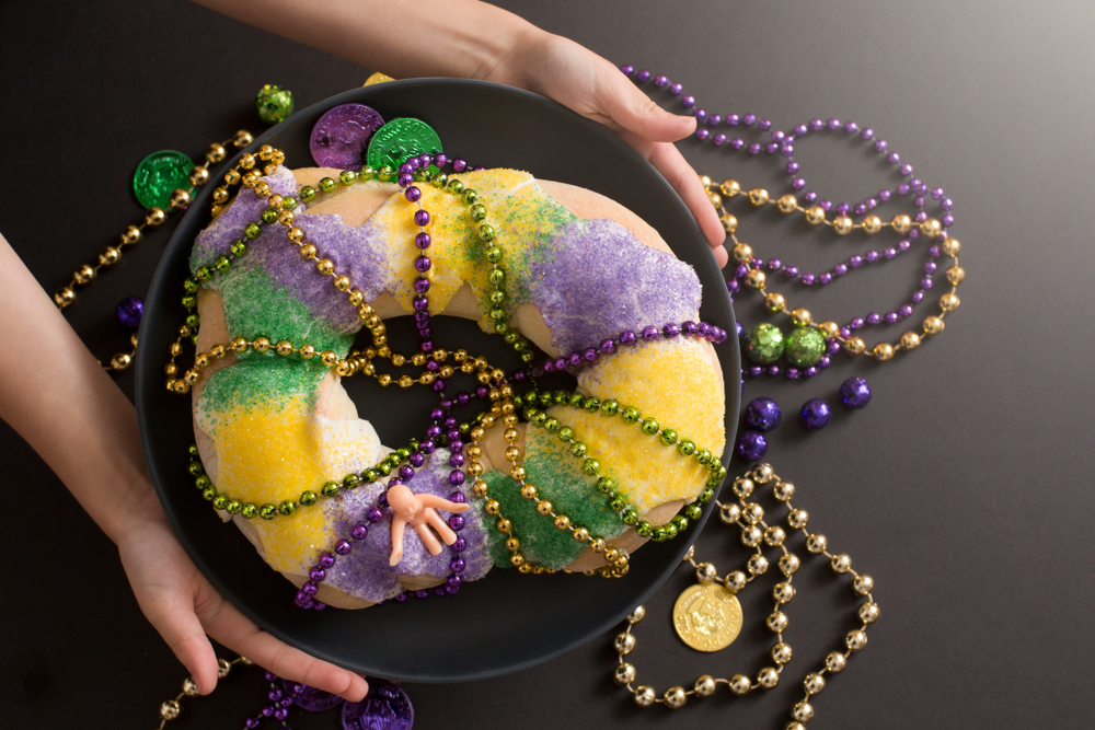 Louisiana Mardi Gras King Cake