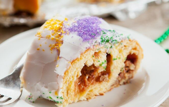 Follow this recipe for a 'plain' king cake, or get creative with the filling. (Shutterstock)