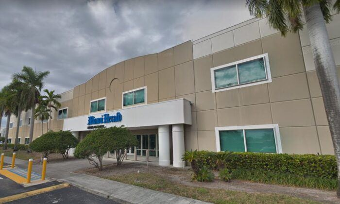 The second-largest newspaper publisher in the United States,McClatchy, which owns the likes of the Miami Herald and Sacramento Bee, filed for Chapter 11 bankruptcy protection on Thursday. (Google Maps)