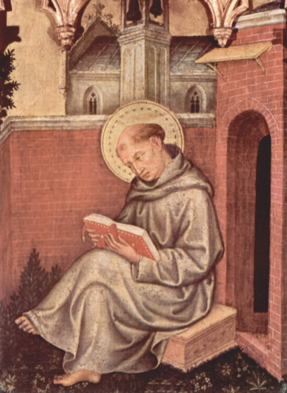 Thomas Aquinas by Gentile_da_Fabriano