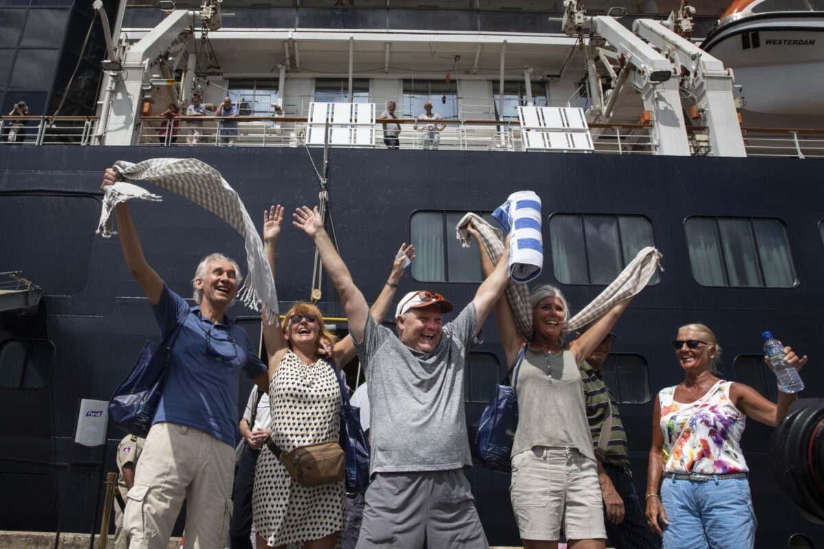 Westerdam Cruise Ship Rejected by Five Countries Docks...
