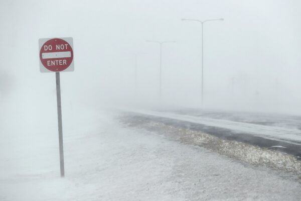 Highway Arctic Blast Midwest US