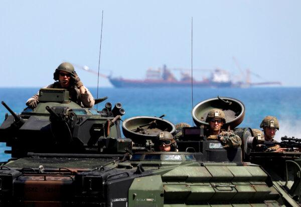 U.S. Marines in Philippines