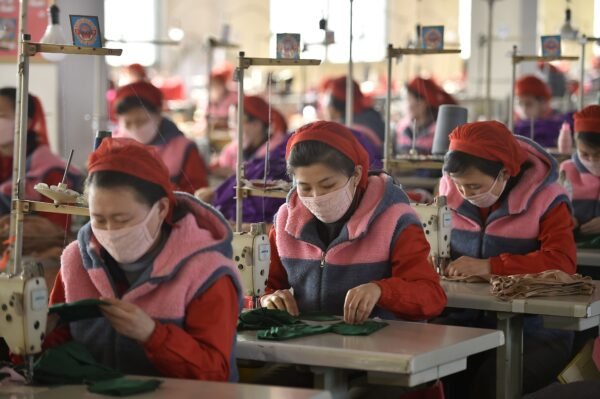 Pyongyang mask manufacturing