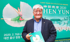 South Korean University Chairman Appreciates Meaning of Life at Shen Yun Performance
