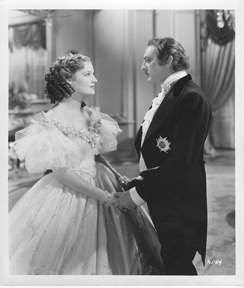 Jeannette MacDonald and John Barrymore