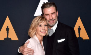 'Grease' Stars John Travolta and Olivia Newton-John on Their 42 Years of Friendship: 'We Love Each Other'