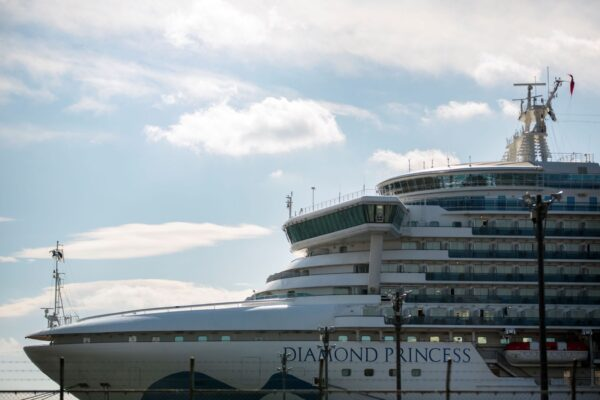 japan cruise ship diamond princess