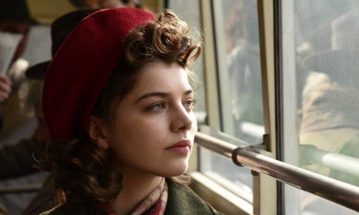 Klara (Abigel Szoke) as a girl who lost her family in World War II and survives in Soviet Hungary. (Menemsha Films)