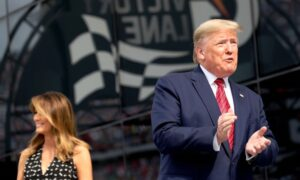Trump Celebrates Patriotism at Daytona 500, Takes Laps Around Track