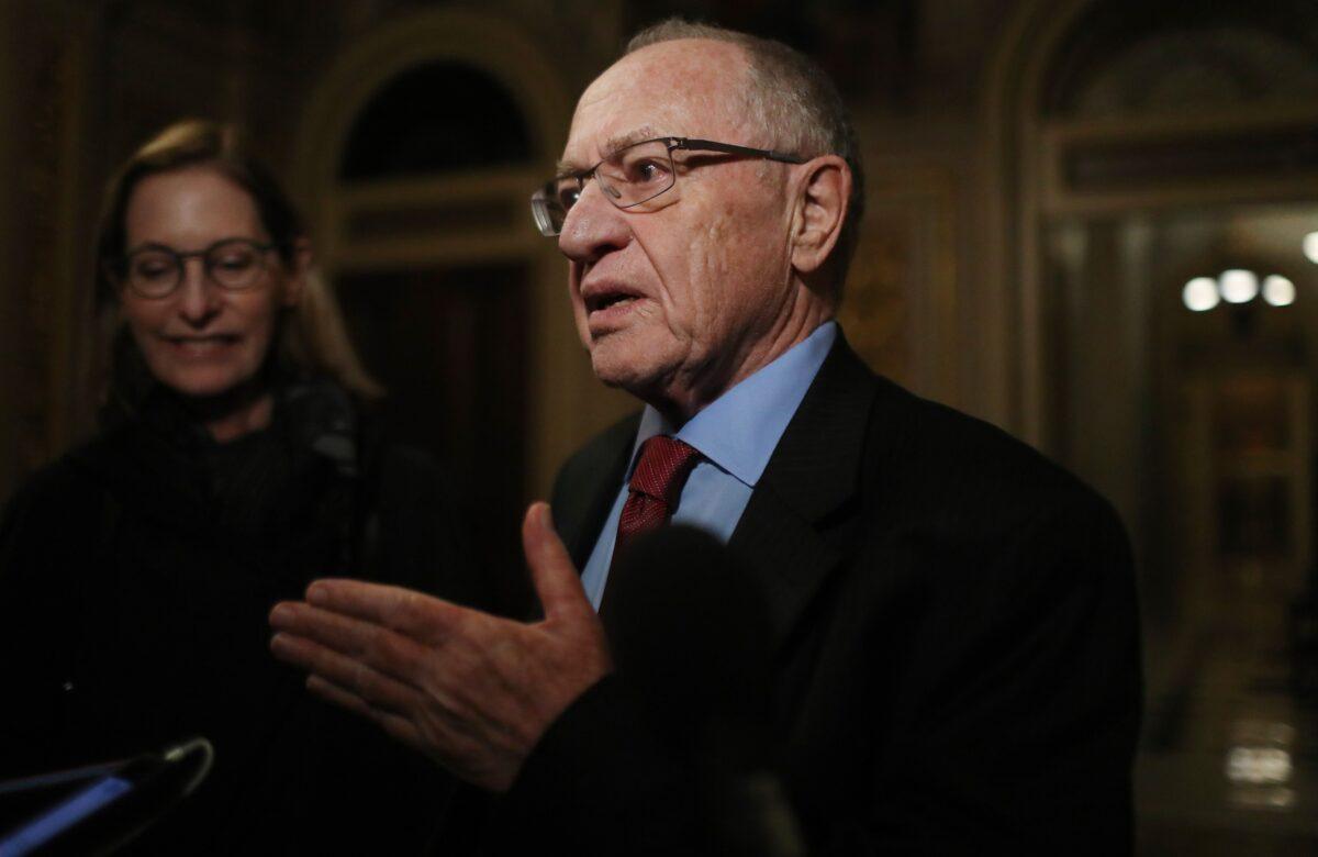 Dershowitz: Obama Told FBI to Investigate Someone on Soros's Request