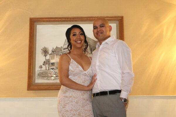 Alyssa and Jon Aguilar get married