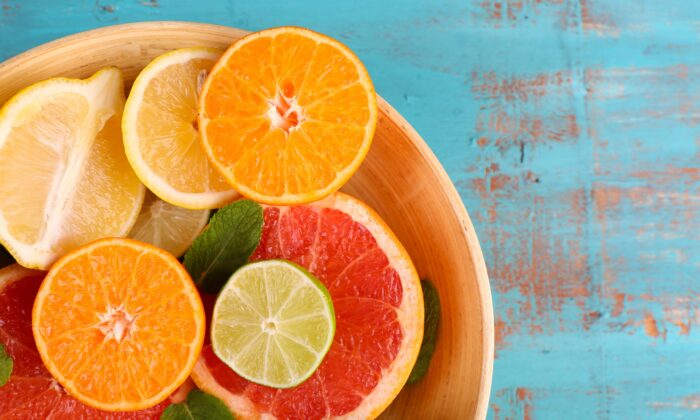 Vitamin C helps your body produce collagen and elastin to promote flexible veins. (Africa Studio/Shutterstock)