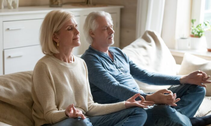 Mindfulness meditation can help us increase focus and decrease stress. (fizkes/Shutterstock)