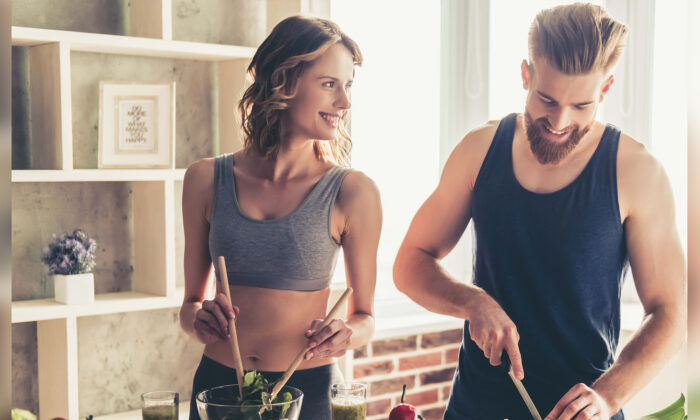 Eating a nutritious diet and getting moderate exercise are important, especially when you need your immune system in top shape.(George Rudy/Shutterstock)