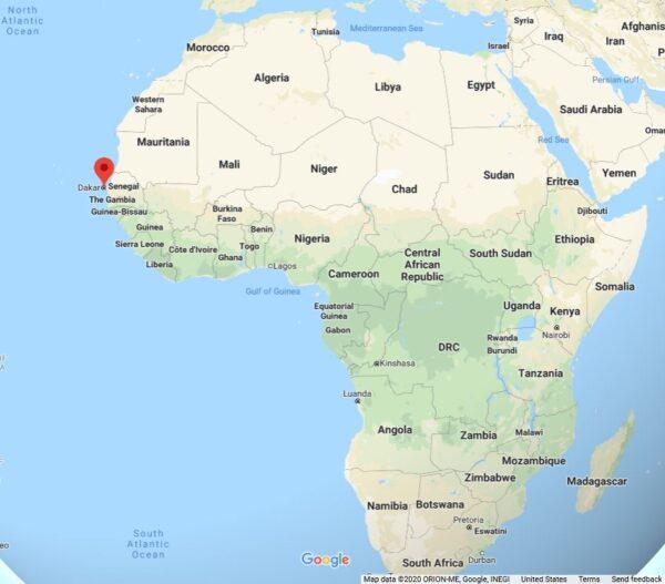 Senegal (Google Maps)