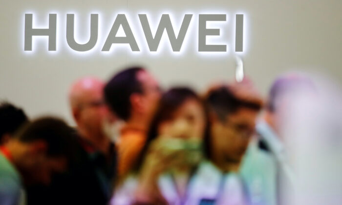 The Huawei logo is pictured at the IFA consumer tech fair in Berlin, Germany on Sept. 6, 2019. (Hannibal Hanschke/Reuters-File)