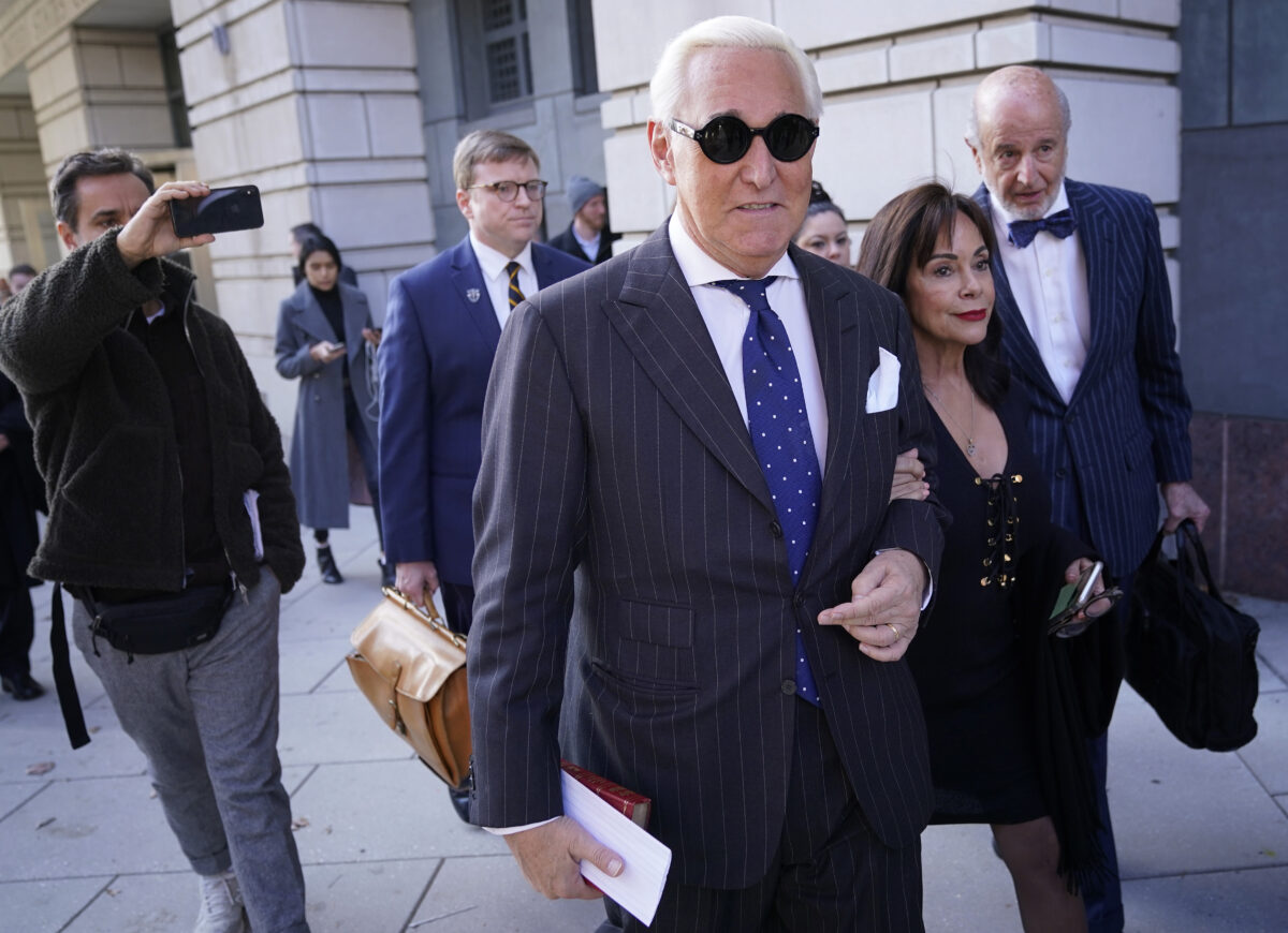 Judge Keeps Stone Sentencing Date, Will Weigh His New Trial Request