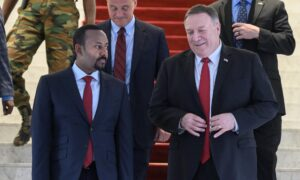 Pompeo Meets Ethiopia's Reformist Prime Minister