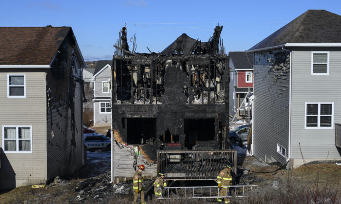 The parents of seven children who died in aHalifaxhousefirea year ago are offering thanks to the public for the love and support they've received since the tragedy in theHalifaxsuburb of Spryfield on Feb. 19, 2019. (Darren Calabrese/The Canadian Press)