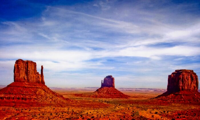 Monument Valley has been featured in many movies. (Fred J. Eckert)