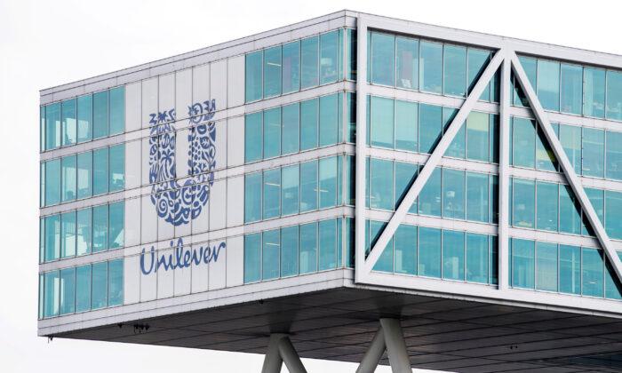Unilever headquarters in Rotterdam, Netherlands, on Aug. 21, 2018. (Piroschka van de Wouw/Reuters)