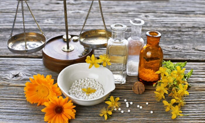 The first report concluded that there is encouraging evidence for homeopathy in five conditions: fibromyalgia, ear infections, upper respiratory tract infections, side effects of cancer treatment, and postoperative ileus.(Jelena Yukka/Shutterstock)