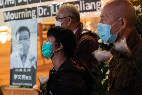 li wenliang vigil