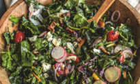 Wilted Mixed Greens With Bacon