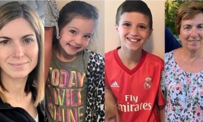 Authorities said 5-year-old Scarlett Smith and her mother, Julie Smith, 41, were killed in the crash along withScarlett's grandmother,Josephine Fay. Jackson Smith, 11, was taken to the hospital and was later pronounced dead. (GoFundMe)