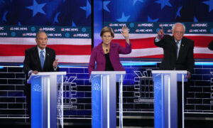 Rivals Attack Sanders, Bloomberg: Democratic Debate Live Updates