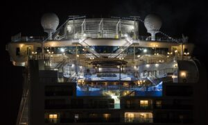 Diamond Princess Evacuees Arrive for Quarantine in Canada