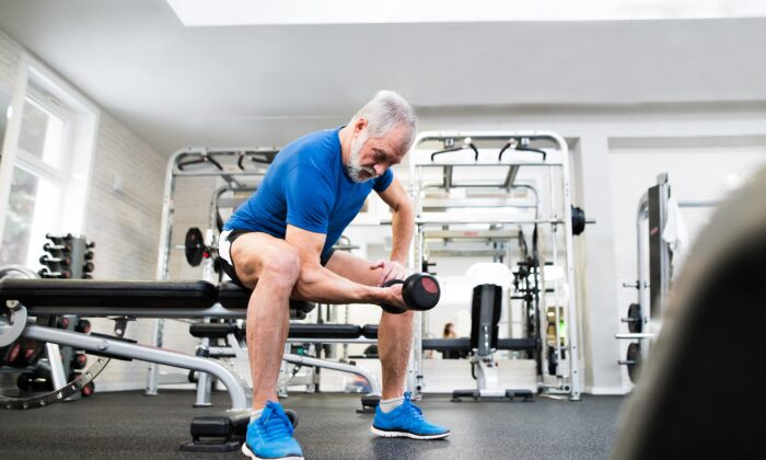 Maintain your muscles to better guarantee you can live the life you want as age takes its toll. (Halfpoint/Shutterstock)