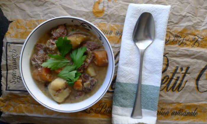 Sourdough stew. (Ari LeVaux)