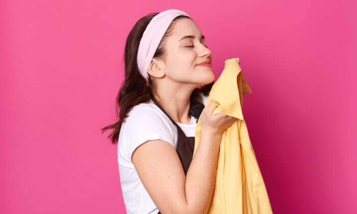 Smelling our partner's scent can help reduce stress and improve sleep, according to two studies. (StoryTime Studio/Shutterstock)