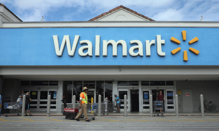 A Walmart store is seen in Miami, Fla., on Feb. 18, 2020. (Joe Raedle/Getty Images)