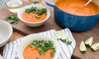 A Colorful Coconut Curry Soup for the Depths of Soup Season