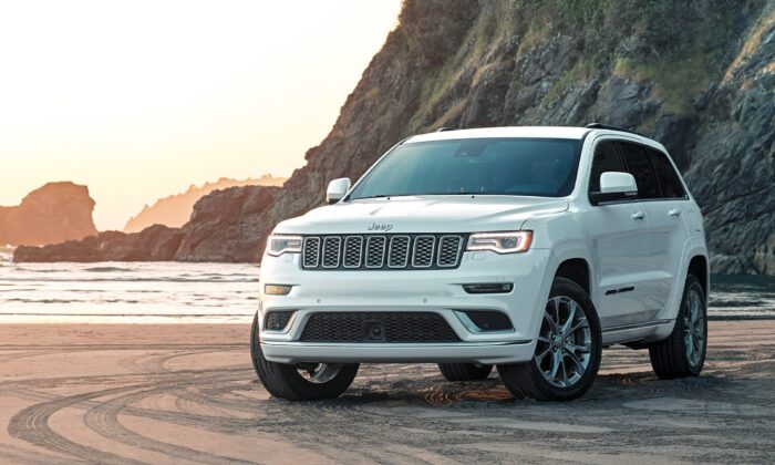 2020 Jeep Grand Cherokee. (Courtesy of FCA/Jeep)