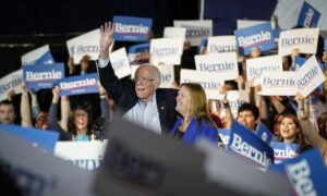 Bernie Sanders Cements Frontrunner Status With Crushing Win in Nevada