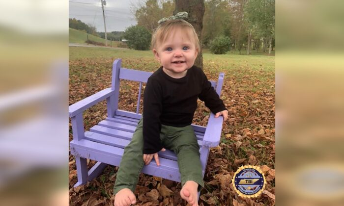 Missing Child Evelyn Mae Boswell. (Tennessee Bureau of Investigation)