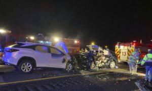 Georgia Crash Leaves 6 Dead, Including 3 Children, Officials Say