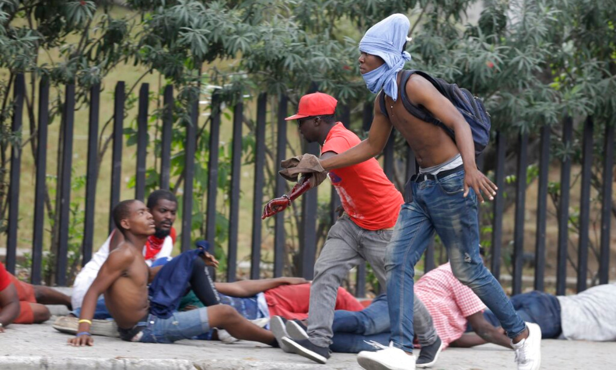 Haiti violence in Port-au-Prince