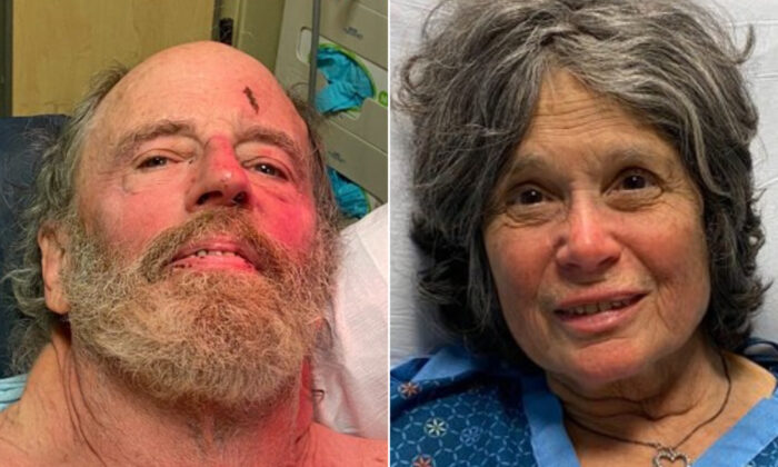 Ian Irwin (L) and Carol Kiparsky. (Marin County Sheriff)
