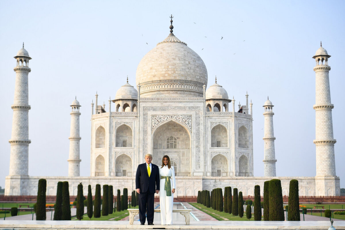Taj-Mahal-Trump-and-Melania