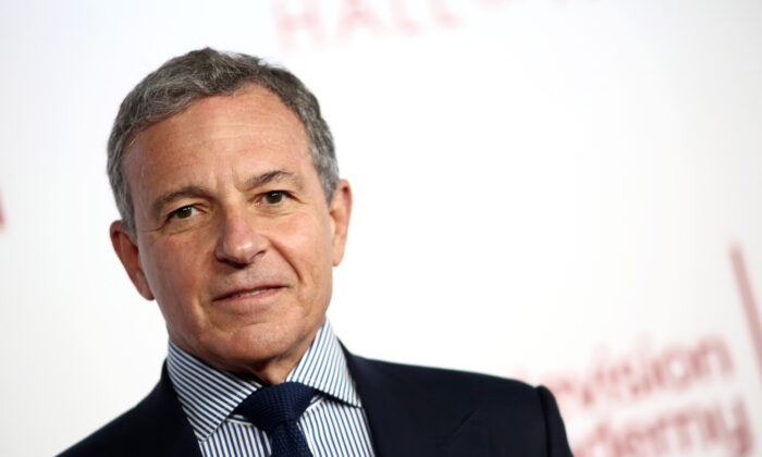 Robert A. Iger attends the Television Academy's 25th Hall Of Fame Induction Ceremony at Saban Media Center in North Hollywood, Calif., on Jan. 28, 2020.(Tommaso Boddi/WireImage,)
