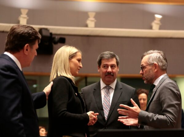 EU General Affairs ministers' meeting-Brussels