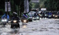 Indonesia's Low-Lying Capital Flooded for Second Time This Year